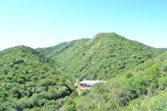 Obrazka panoramiczny przypadkowy well zaświecający fotografia royalty free