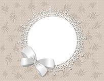 obrazka ramowy koronkowy wektor Fotografia Royalty Free