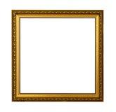 obrazka ramowy złoty rocznik Fotografia Royalty Free