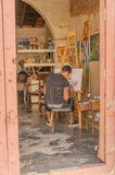 Obrazki Kuba, Trinidad - Obraz Stock