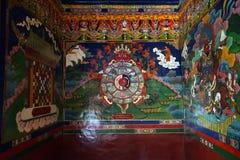 Obrazki w monasterze obrazy royalty free