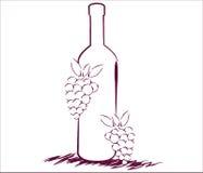 Obrazkowi winogrona Obraz Stock