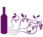 Obrazkowi winogrona Zdjęcie Royalty Free