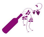 Obrazkowi winogrona Zdjęcia Royalty Free