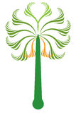 obrazkowy drzewko palmowe Fotografia Stock
