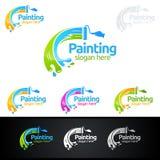 Obrazu biznesowy logo z kolorowym okręgiem reprezentował obrazu loga Fotografia Royalty Free