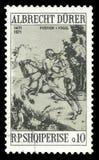 Obrazu jeździec Albrecht Durer ilustracji