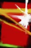 Obrazu olejnego abstrakta stylu grafika na kanwie Zdjęcia Stock