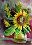 Obrazu słonecznik royalty ilustracja