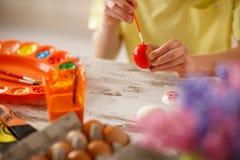 Obrazu Wielkanocny czerwony jajko, pojęcie Zdjęcia Stock