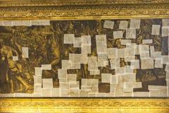 obrazu złoty odświeżanie Obraz Royalty Free
