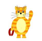 Kreskówka kot Fotografia Stock