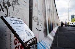 Obrazy Berlińska ściana Zdjęcia Royalty Free