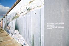 Obrazy Berlińska ściana Zdjęcia Stock