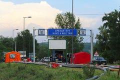 Obrenovac räddningsaktion arkivbilder