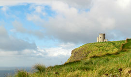 OBriens Tower on Cliffs of Moher Stock Image