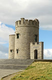 OBriens Tower on Cliffs of Moher Royalty Free Stock Images