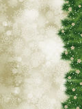 Obrigado cardar em um cartão de Natal elegante. EPS 8 Foto de Stock Royalty Free
