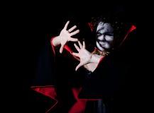 obrończy kobiety światła wampir Obraz Royalty Free