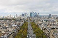 obrończy los angeles Paris fotografia royalty free