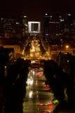 obrończy los angeles Paris zdjęcie stock