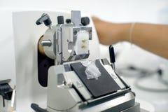 Obrotowa Microtome sekcja zdjęcie royalty free