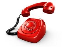 obrotowy rocznego telefonu Zdjęcie Royalty Free