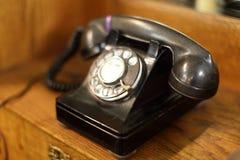 obrotowy telefonu rocznik Obrazy Stock