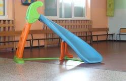 Obruszenia inside szkoła bez dzieci Obrazy Royalty Free