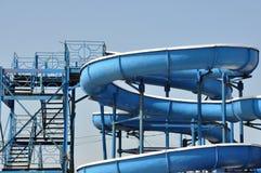 obruszenie błękitny schodki Fotografia Stock