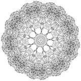 Obrysowywający azjata stylu kwiaty ilustracji