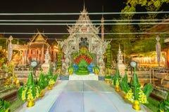Obrządu religijna festiwal przy Sri Suphan świątynią &-x28; Srebny Temple&-x29; Obrazy Stock