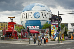 Obrzęku balon, Berlin, Niemcy Obrazy Royalty Free