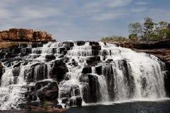 Obsługujący spadki Kimberley, Australia - Zdjęcia Royalty Free