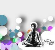 Obsługuje ćwiczy joga pozę, 21st Czerwa joga międzynarodowy dzień Zdjęcie Stock