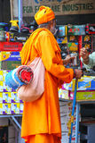 Obsługuje błagać przy Kinari bazarem w Agra, Uttar Pradesh, India Zdjęcie Stock