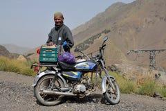 Obsługuje handlowe pamiątki w atlanta górach w Maroko Fotografia Stock