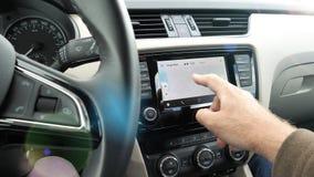Obsługuje z Nokia 6 smartphone Android samochodem Google Maps zbiory wideo