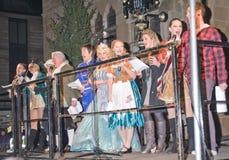 Obsada Kopciuszek w Inverness. Zdjęcie Royalty Free