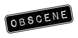 Obscene rubber stamp Royalty Free Stock Photos