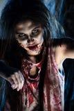 Obscuridad del zombi Fotos de archivo