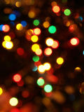 Obscuridad grande del fondo de las luces de Blured imagen de archivo libre de regalías