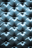Obscuridade à moda - upholstery de seda azul Imagem de Stock
