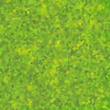 Obscuridade abstrata do papel de parede do teste padrão de mosaico - verde Fotos de Stock Royalty Free