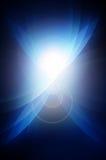 Obscuridade abstrata - fundo azul Fotos de Stock