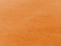 Obscuridade abstrata - a laranja recicla o fundo de papel da textura da amoreira Imagem de Stock