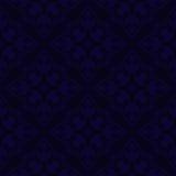 Obscuridade abstrata - teste padrão azul Fotos de Stock