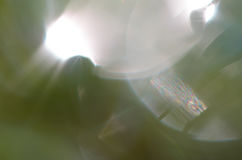 Obscuridade abstrata um fundo verde Imagem de Stock