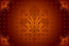 Obscuridade abstrata - vermelho ilustração royalty free