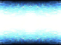 Obscuridade branca abstrata - parede azul Fotografia de Stock Royalty Free